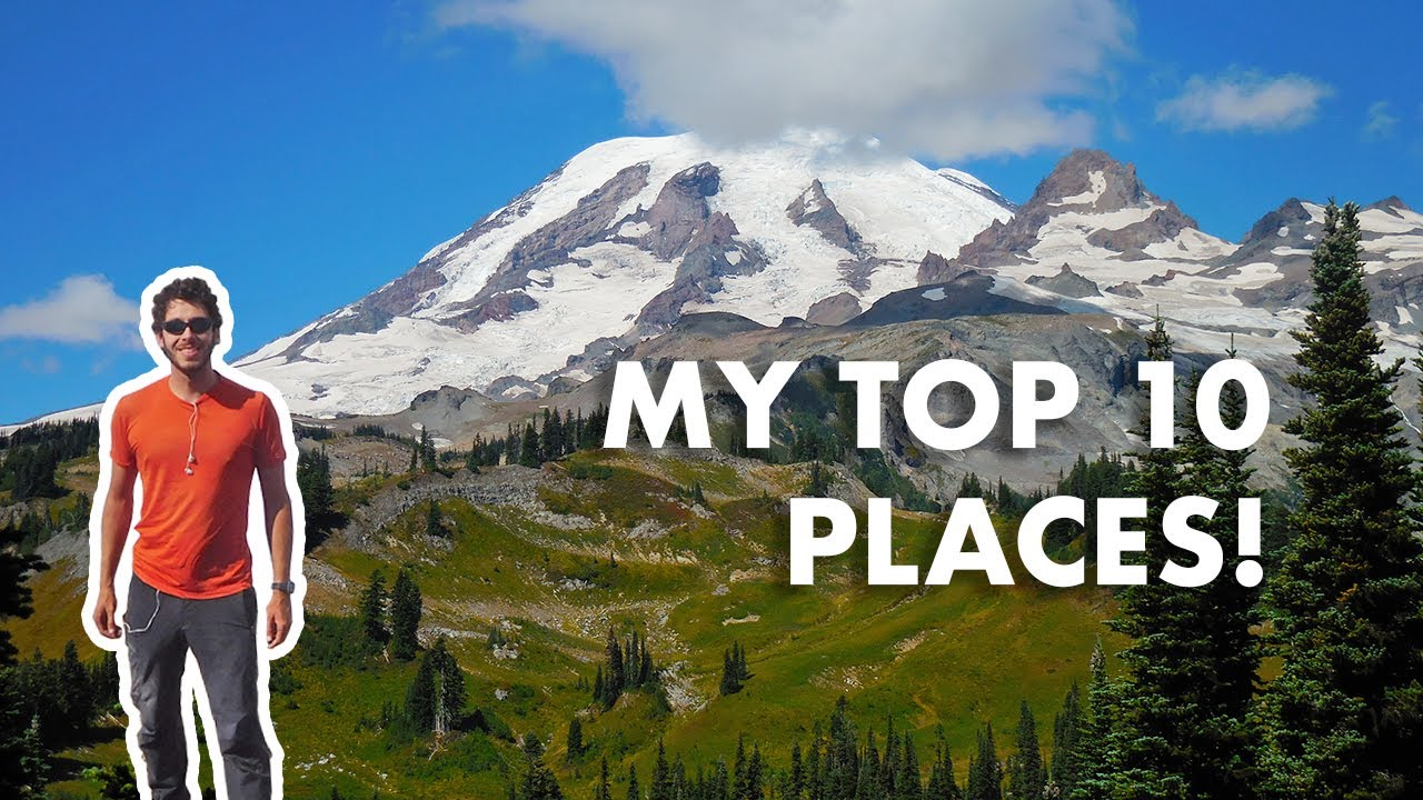 My 10 Favorite Places in the American West (100k Subscribers Reached!)