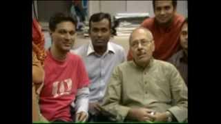 Shirshendu Mukhopadhyay In Channel One Office