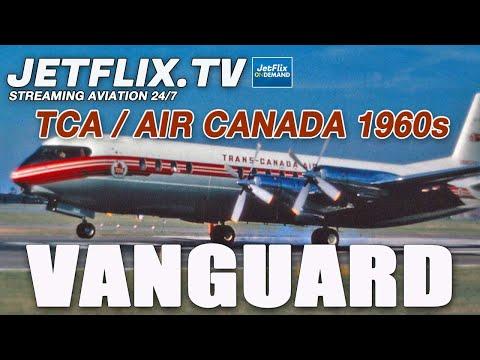 AIR CANADA VICKERS VANGUARD  COMPANY ARCHIVES FILMS PLUS DC-8 BONUS!