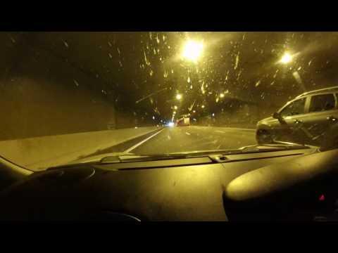 Porsche 996 tunnel run, Dansk sports silencers and K&N induction.