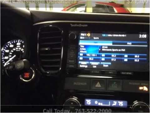 2014 mitsubishi outlander used cars golden valley mn youtube for Poquet motors golden valley mn