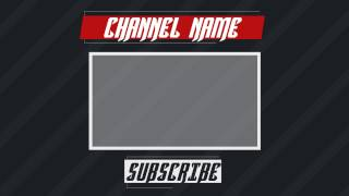 Sleek Outro Template for Sony vegas and After effects |TRONARTS #7