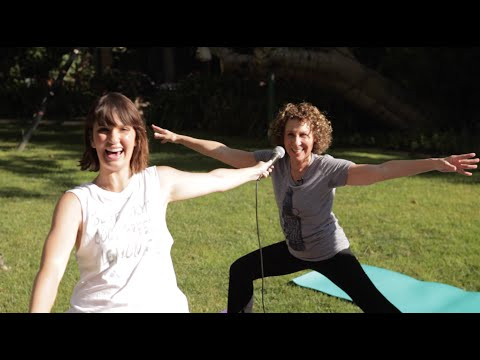 Inconvenient s wRisa: Doing Yoga with Rhea Perlman  HelloGiggles