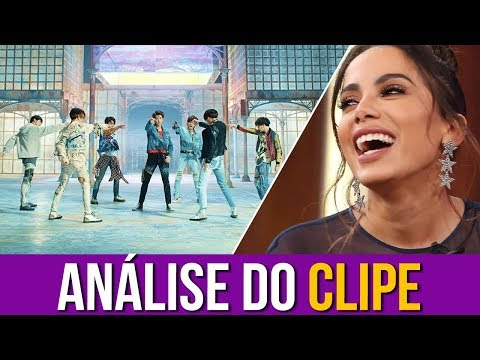 Anitta Analisa Fake Love - BTS