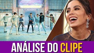 "Anitta Analisa ""Fake Love - BTS"""