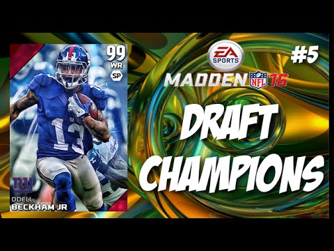 <b>Madden 16</b> Draft Champions Herman Moore is a <b>Cheat Code</b> !!! - YouTube