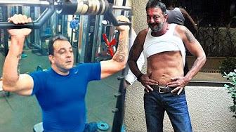 Sanjay Dutt In Gym