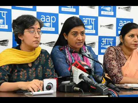 AAP | Assault of JNU students and Journalist is highly condemnable | Delhi police shame |