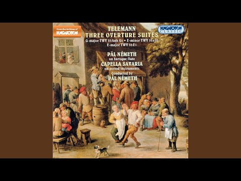 Suite in E Minor for Flute, String Orchestra and Basso Continuo: Rigaudon