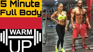 #5 #min #complete #body #warmup #before #workout