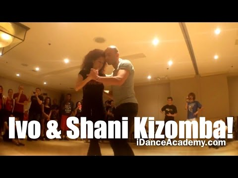 Sexiest Club Dance I've Seen-KIZOMBA Los Angeles Lessons- Ivo Shani