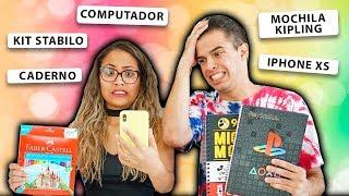 REALIZANDO DESEJOS DOS FÃS! - MATERIAL ESCOLAR - KIDS FUN