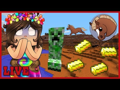 HorseCraft Weekend Gold Rush! 🐴 Minecraft Online Live Stream