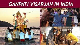 Ganpati Visarjan in India   Funcho Entertainment