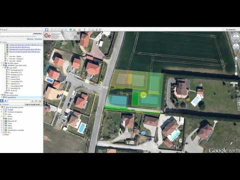 EXPORT FICHIER DWG/DXF vers KML/KMZ Google Earth