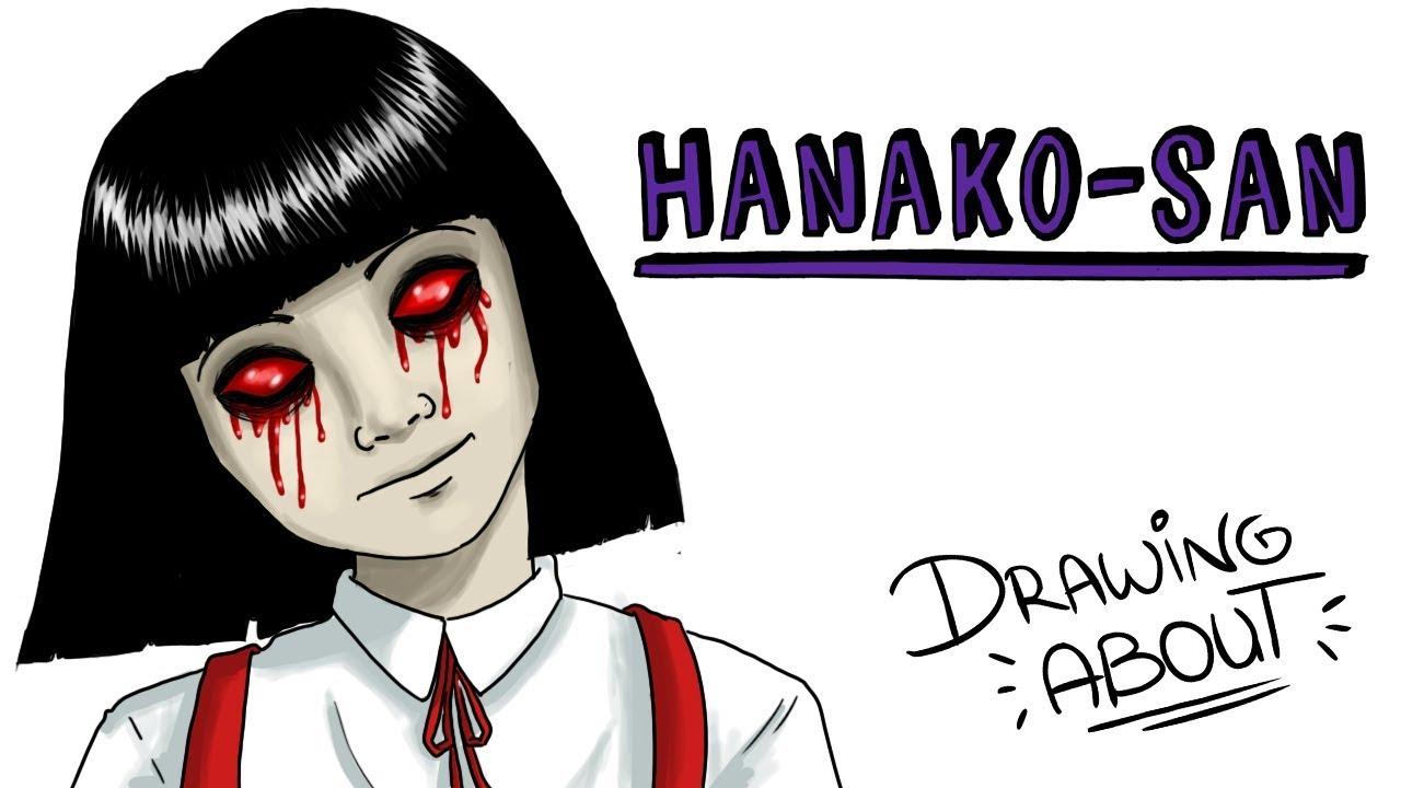 HANAKO-SAN  LA OSCURA LEYENDA JAPONESA DE LA NIÑA DEL BAÑO | Draw My Life