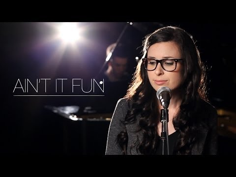 Paramore - Ain't It Fun (Piano Cover by Caitlin Hart)