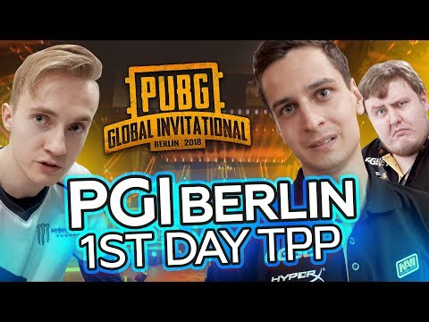 NAVI PUBG at PGI Berlin: 1st day TPP