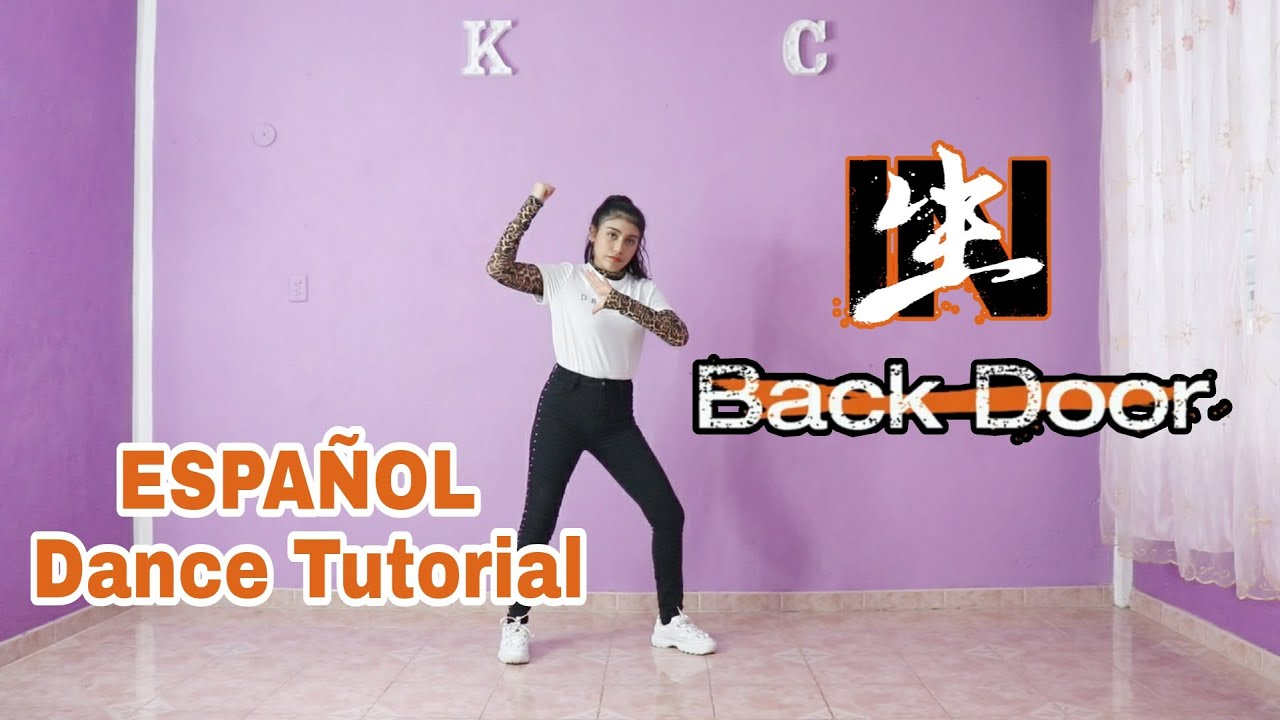 "Stray Kids ""Back Door"" - ESPAÑOL Dance Tutorial   Mirror   Kenya Chan"