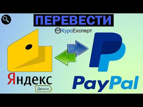 Как перевести с Яндекс деньги на ПейПал (PayPal) в 2020 через КурсЕксперт