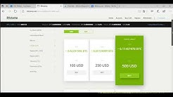 Buying Bitcoin with Bitstamp