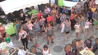 Jeunesse en Action Flashmob - Marché de St Antonin 26-7-2015