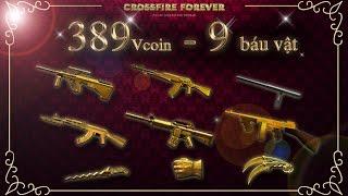 [CFVN] Event tiêu 389vcoin nhận 6 báu vật ultimate gold - Trúng dual karambit ultimate gold 3 quả