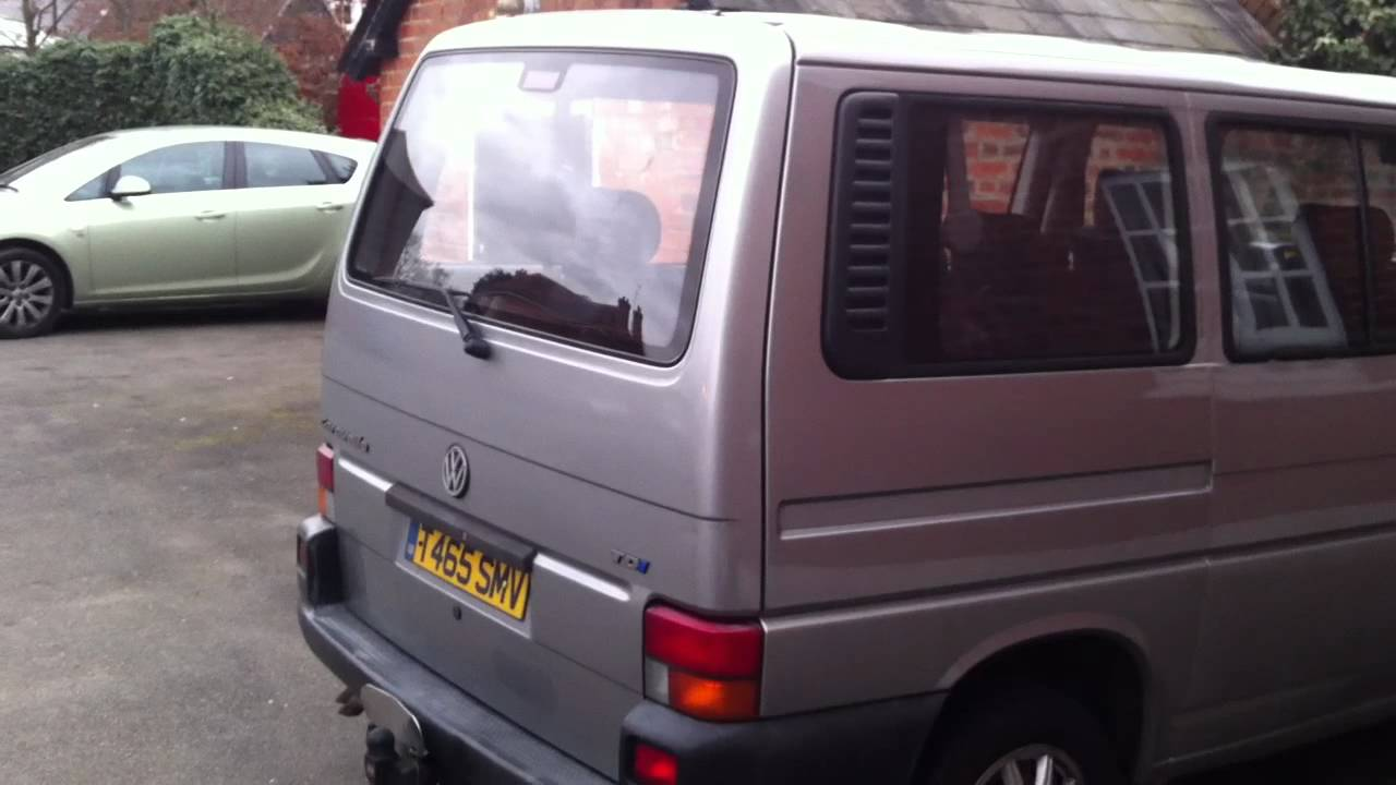 Vw T4 Central Locking Kit Tailgate Opening Youtube