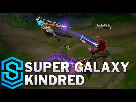 Super Galaxy Kindred Skin Spotlight - League of Legends