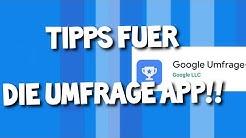 So bekommst du mehr Umfragen!! Tipps für die Google Umfrage-App!!