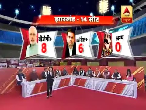 ABP Exit Poll 2019: BJP+ predicted to win 8 seasts in Jharkhand