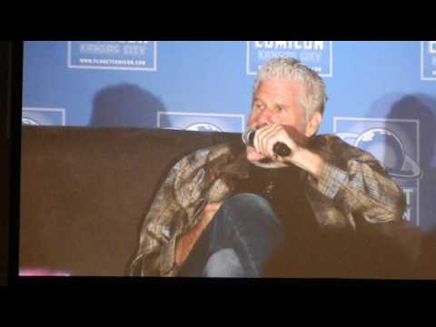 Ron Perlman panel Planet Comicon 2017 Sun 4-30 Kansas City