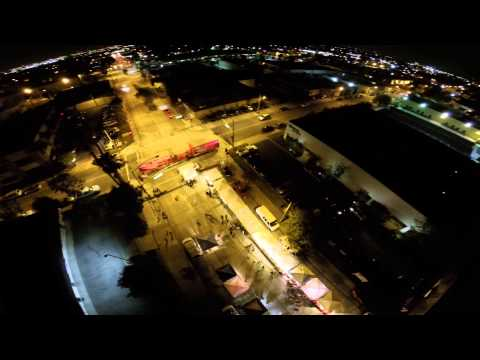 Monrovia California - Night just flying
