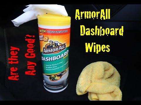 ArmorAll Dashboard Wipes Review