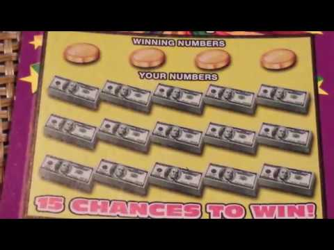 NICE WINS ON THE 20X THE CASH SCRATCH-OFFS OUTTA MD!!!