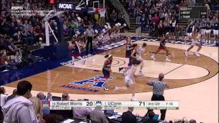 UConn Women's Basketball vs Robert Morris Highlights