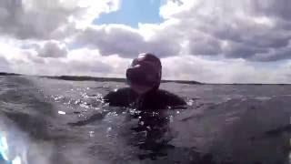 Фридайвинг на озере Свитязь. Шацкие озёра.(Погружались на глубину до 12 метров. Температура воды 22 градуса. Термоклин на 6 метрах. Прозрачность 5 метров., 2016-06-07T10:17:52.000Z)