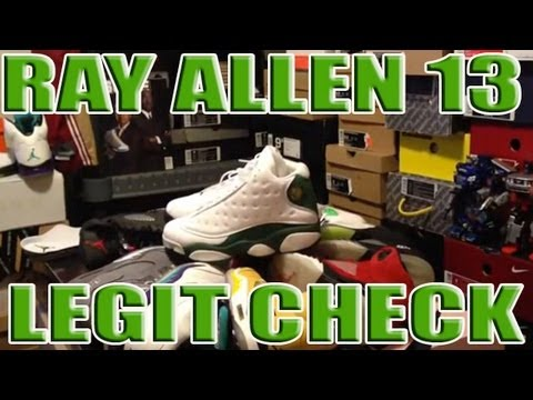 timeless design d81c9 0e511 Ray Allen 13 XIII Legit Check?