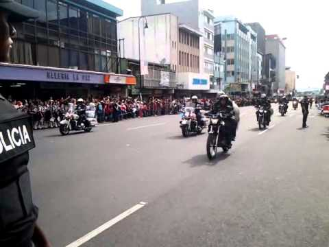 Obama Arrives in San Jose, Costa Rica