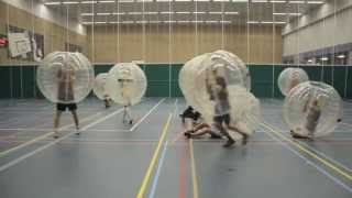 Bubble Soccer only way to play FOOTBALL
