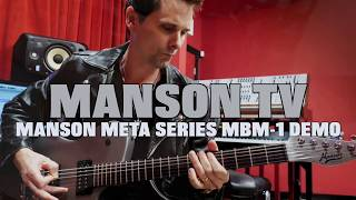 Manson Guitars Meta Series MBM-1 Demo