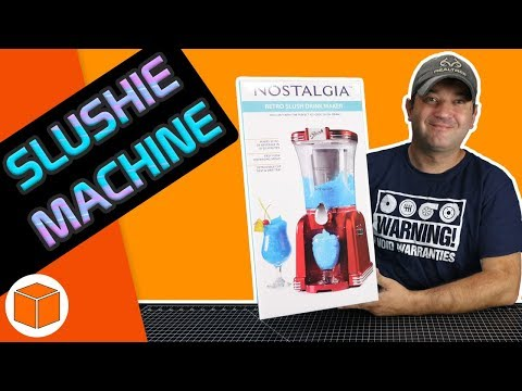 Slush Making Machine By Nostalgia || Unboxing