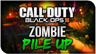 "COD BO3 ZOMBIE Glitches -""Zombie Pile Up Glitch Shadows Of Evil"" [XB1,PS4,PC] Black Ops 3 Glitches"