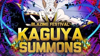 ** KAGUYA BLAZING FEST SUMMONS  * | ** Naruto Ultimate Ninja Blazing *