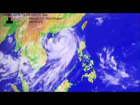 The 2015 typhoon season over the South China Sea