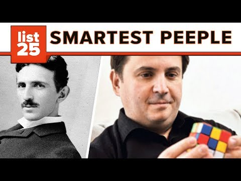 25 Highest IQ's Throughout History