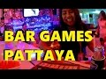 Action street Soi Buakhao Pattaya - Family bar PLAYING BEER BAR GAMES