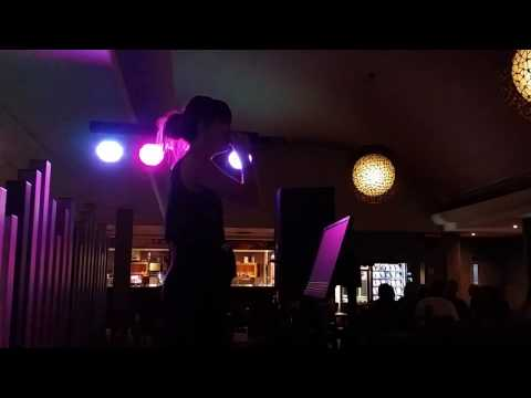 Esther Welch back in 2014 at Central Coast Karaoke