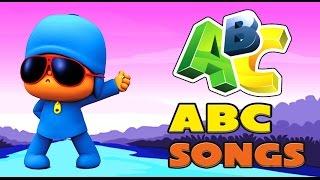 Pocoyo Alphabet Nursery Rhymes | Pocoyo Abc Songs | Pocoyo Phonic Songs For Kids In HD