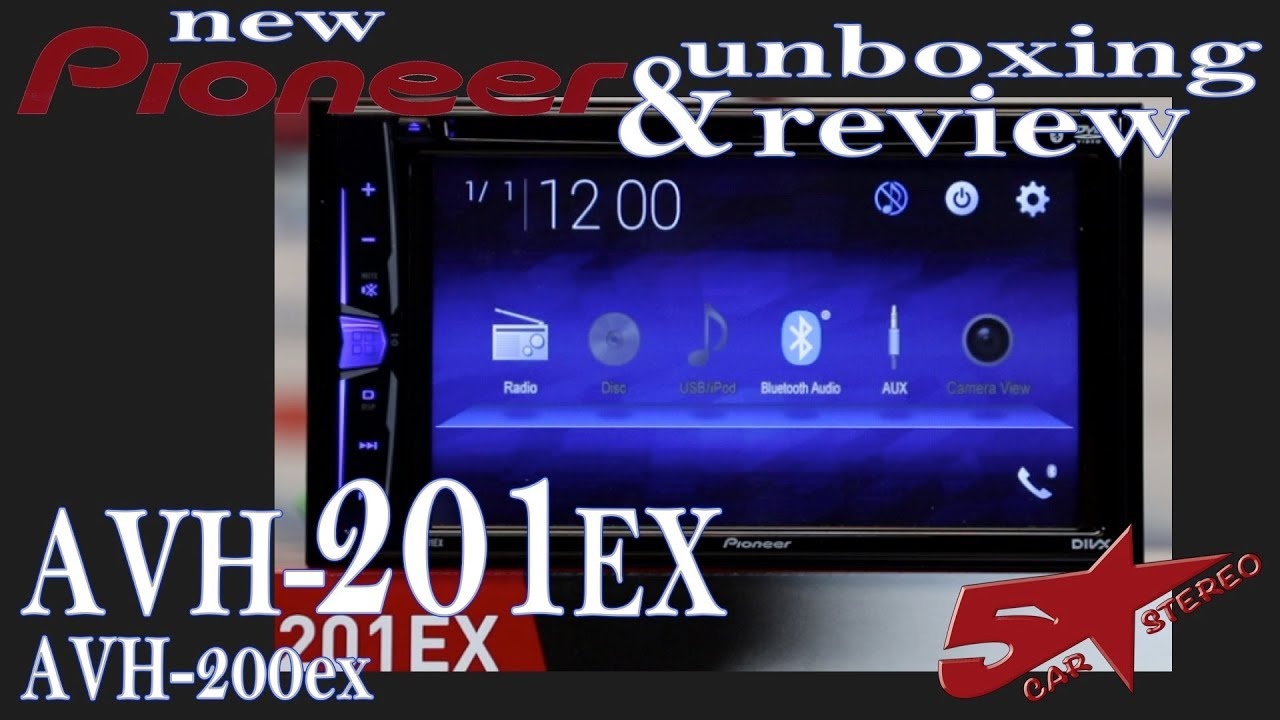 Pioneer S New Avh 201ex Avh 200ex Unboxing And Review Youtube